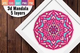 Mandala (209 images) 3/11 pages. 80 3d Mandala Svg Designs Graphics