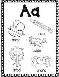 Learning the alphabet is the first step to help kids recognize the letters and sounds that will lead them to form words. El Alfabeto Spanish Alphabet Coloring Sheets By Bilingual Teacher World