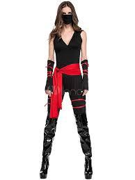 Ninja Suit Size Chart Carnival Ninja Costume Black Sash Mask Ninja Halloween Holidays Costumes