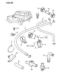 1986 jeep grand wagoneer heater hoses