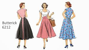 Retro Dress Patterns Awesome Pintucks New Vintage Pattern Review Butterick 48 Pop Over Dress