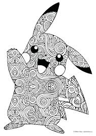 picachu coloring pages page pokemon pikachu ex