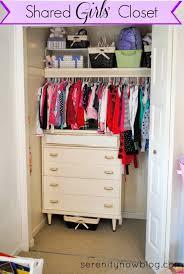organizing a shared girls closet real life organizing