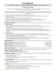 Substitute Teaching Resume Download Now Teacher Resume Samples