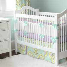purple nursery bedding ideas