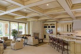 painting ideas for master bedroom with tray ceiling coffered ceiling construction in kitchen