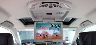 car video archives quality mobile video blog overhead dvd player in a 2011 toyota sienna dual sunroofs