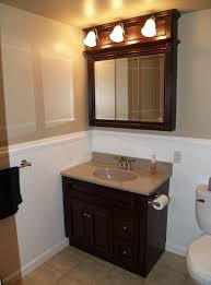 stylish modular wooden bathroom vanity. Brilliant Vanity LightingMarvelous Modular Wooden Bathroom Vanity Decoration With Arched  Light Bar On Off Switch Lowes Intended Stylish T