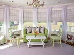 Purple And Green Living Room Decor Behind The Color Purple Hgtv