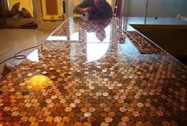cents and sensibility how to install a copper penny floor within tile prepare 8