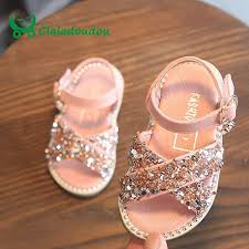 Baby Bling Leather Beige <b>Rivets Summer</b> Princess <b>Sandals</b>   New ...