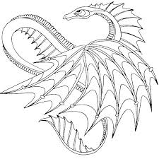 Hard Dragon Coloring Pages Colouring Page Fire Breathing Pics How