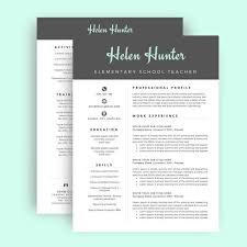 Resume Cover Page Template Word Best of Resume Template CV Template For Word Two Page Resume Cover