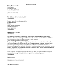 Formal Letters Format Letter Format Address Letter Format To The Principal Copy Formal 11