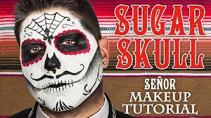 male sugar skull makeup tutorial whcdoessfx