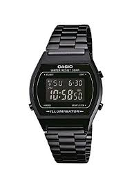 casio collection men s watch black digital display and casio collection men s watch black digital display and stainless steel bracelet b640wb 1bef