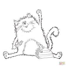 Splat The Cat Coloring Pages Coloring Site #6240
