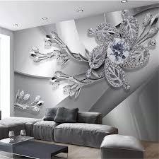 Beibehang Aangepaste Behang 3d Muurschildering Cool Metal Textuur