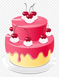 Download Hd Elegant Images Of Birthday Cakes Png Cake Pink