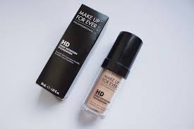 makeup forever hd foundation