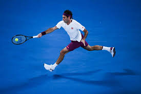 Federer Finishes Fast To Fend Off Fucsovics in Australian ...