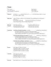 How To Format A Resume In Word Professional Acting Resume Template
