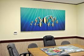 paintings for office walls. Moorish Idols Tropical Fish Paintings For Office Art Walls