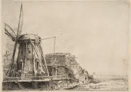 rembrandt van rijn prints essay heilbrunn   the windmill