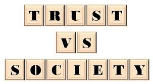 Will Vs Trust Chart Difference Between Trust And Society With Comparison Chart