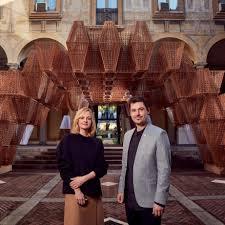 Cos Design Week Arthur Mamou Mani And Karin Gustafsson On Coss Milan Design