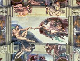 sistine chapel ceiling creation of adam painting michelangelo sistine chapel ceiling creation of adam art