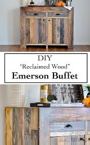 industrial furniture diy. how to build a diy emerson buffet industrial furniture diy