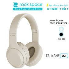 Tai nghe bluetooth headphone không dây chụp tai Rockspace O2, có mic, chơi  game, nghe nhạc liên tục 15h, Hàng chính hãng - Tai nghe Bluetooth chụp tai  Over-ear