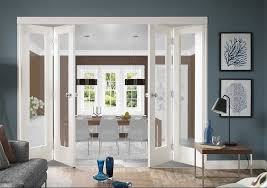 interior clear glass french doors