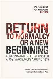 """Image result for return to normalcy"""""""