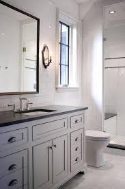 gray vanity bathroom countertops