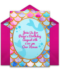 Free Girl Birthday Party Online Invitations Punchbowl
