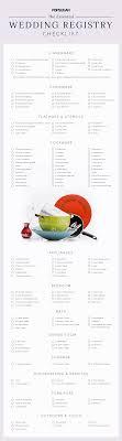 wedding registry list. Wedding Registry Checklist POPSUGAR Food