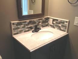 bathroom backsplash lovely bathroom sink tile backsplash how to