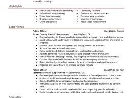 Resume Criminal Justice Resumes Cute Samples Of Criminal Justice