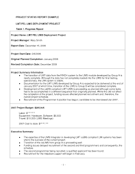 11+ Project Status Report Examples - Pdf