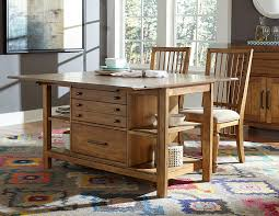 Broyhill Dining Room Table Broyhill Furniture Bethany Square Console Desk Table With Flip Top