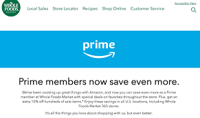 amazon prime member deals whole foods grocery s