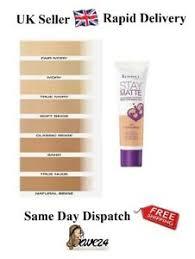 Details About Rimmel Stay Matte Liquid Mousse Foundation 30ml Choose Your Shade