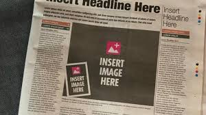 A Brilliant Ad In The Papers Today Makes A Startling Point
