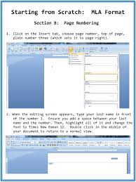 Starting From Scratch Mla Format Ppt Download