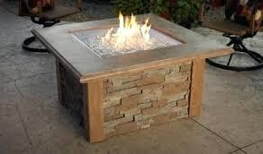propane patio fire unforgettable outdoor