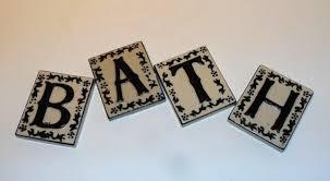 Decorative Letter Tiles