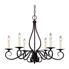 illumine english bronze finish multi light interior chandelier
