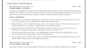 Sample Resume For Teachers Inspiration Resume For Assistant Teacher Rainbowbrainme